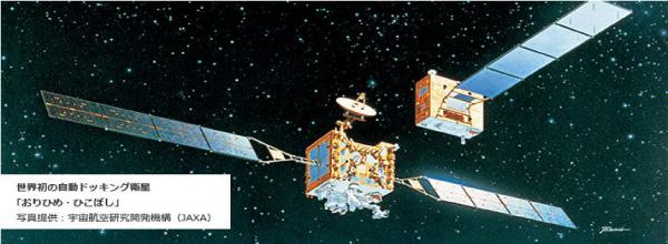 自動ドッキング衛星